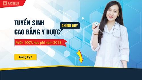 Tuyển sinh Cao đẳng Y Dược năm 2018 TPHCM