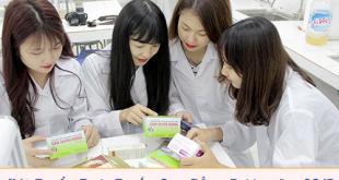 Hướng dẫn đăng ký xét tuyển trực tuyến Cao đẳng Dược năm 2017