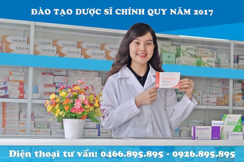 Đào tạo dược sĩ chính quy năm 2017
