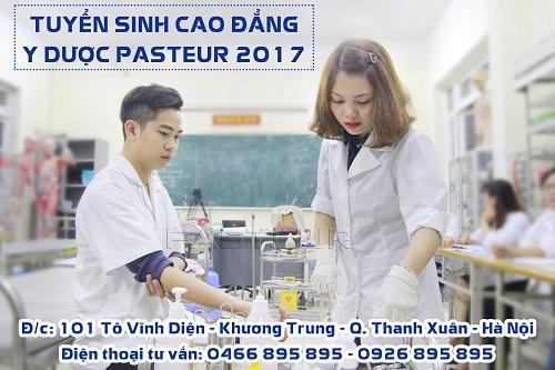 Địa chỉ tuyển sinh Trường Cao đẳng Y Dược Pasteur Hà Nội năm 2017