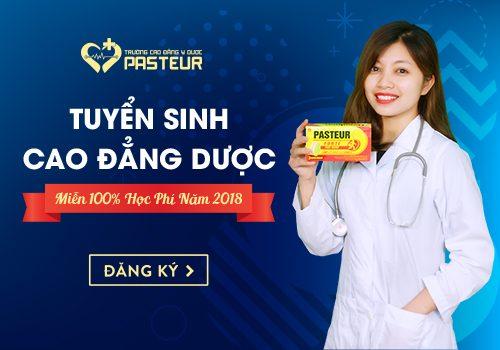 Trường Cao đẳng Y Dược Pasteur tuyển sinh miễn giảm 100% học phí Cao đẳng Dược năm 2018