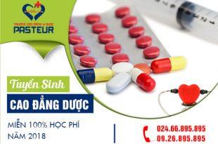 Truong-cao-dang-y-duoc-pasteur-tuyen-sinh-cao-dang-duoc-mien-100%-hoc-phi-nam-2018