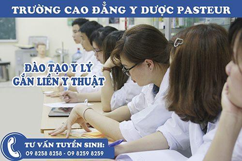 Học ngành Y dược cần phải chọn Trường Cao đẳng Y dược Pasteur
