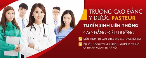 Địa chỉ nộp hồ sơ học liên thông Cao đẳng Điều dưỡng năm 2017 tại Hà Nội
