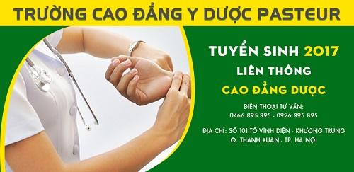 Địa chỉ nộp hồ sơ học liên thông Cao đẳng Dược tại Hà Nội năm 2017