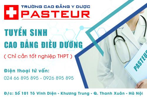 Địa chỉ nộp hồ sơ học Cao đẳng Điều dưỡng năm 2017 tại Hà Nội