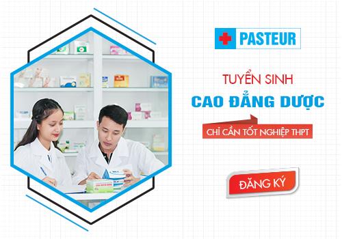 Trường Cao đẳng Y Dược Pasteur tuyển sinh Cao đẳng Dược điều kiện tốt nghiệp THPT