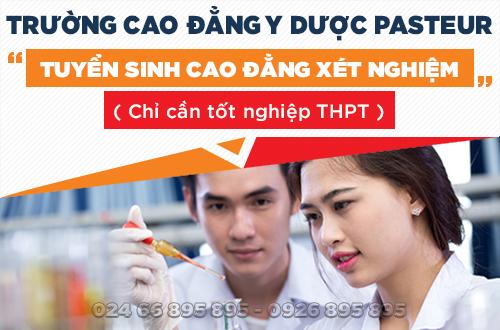 Địa chỉ học Cao đẳng Xét nghiệm năm 2017 tại Hà Nội