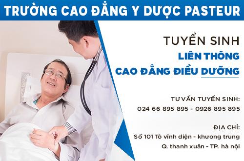 Địa chỉ nộp hồ sơ học liên thông Cao đẳng Điều dưỡng tại Hà Nội