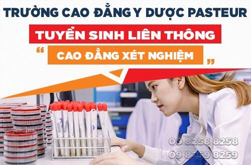 Trường Cao đẳng Y Dược Pasteur đào tạo chuân hóa cán bộ ngành xét nghiệm