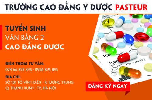 Địa chỉ nộp hồ sơ học Văn bằng 2 Cao đẳng Dược năm 2017 tại Hà Nội