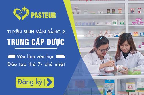 Trường Cao đẳng Y Dược Pasteur thông báo tuyển sinh Văn bằng 2 Trung cấp Dược