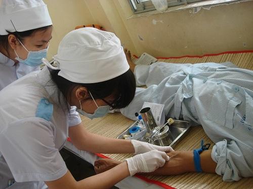Kỳ thực tập giúp bạn sinh viên Cao đẳng Điều dưỡng rèn luyện kỹ năng