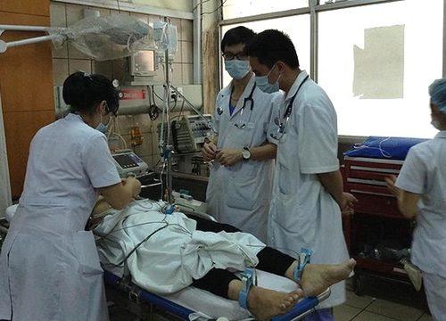 Bệnh nhân có thể xảy ra tình trạng sốc do sử dụng thuốc cản quang