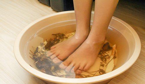 Ngâm chân rất tốt cho sức khỏe