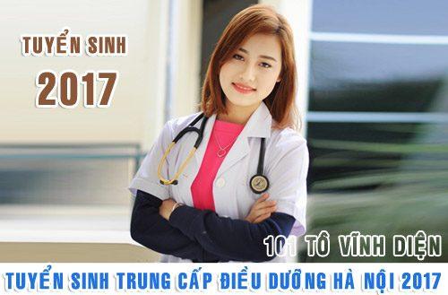 Tuyển sinh Trung cấp Điều dưỡng năm 2017